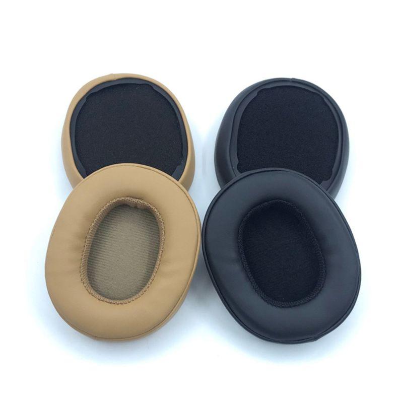 1 par de almohadillas para auriculares almohadillas para los oídos esponja cojín de espuma suave reemplazo para Skullcandy trituradora 3,0 Bluetooth inalámbrico sobre-Ear Hea
