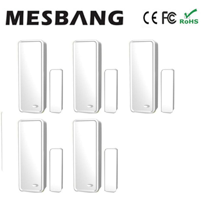 ¡Oferta! detector de puerta con sensor inalámbrico Mesbang de 433 MHZ para GB08, envío gratis