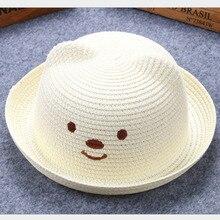 Oreilles de chat en forme dours   Printemps, été couverture pour bébé, garçons et filles, chapeau de plage, casquette à flope lm13