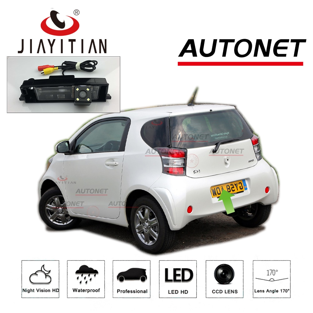 JiaYiTian задняя камера для Toyota iQ/Scion iQ/Aston Martin Cygnet 2008 ~ 2015 HD CCD/ночное видение/резервная обратная парковочная камера