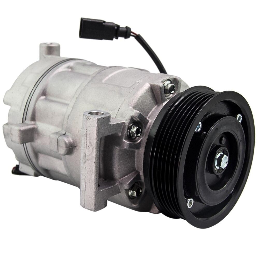 Compresseur AC/C 6PK 110mm 12V 6SEU14C   Pour Audi A4/A6 2.4 V6 2004-2009