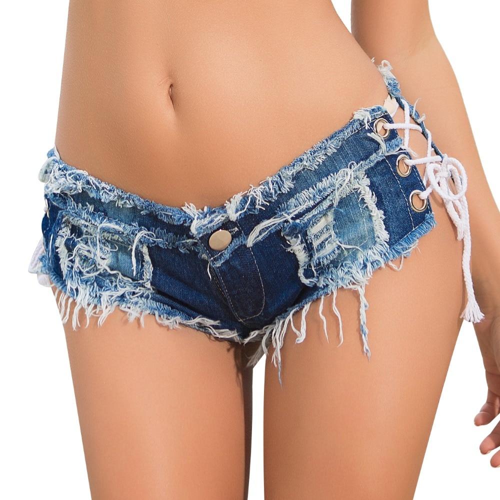 Women Shorts Jeans Summer Mini Shorts Sexy USA Flag Print Hole Destroyed Booty Denim Short Feminino mujer Plus Size Shorts