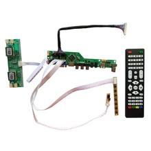 T. V56.031 pour 14.1 pouce 1024x768 adaptateur HDMI USB AV VGA ATV PC LCD contrôleur conseil CCFL LVDS moniteur Kit