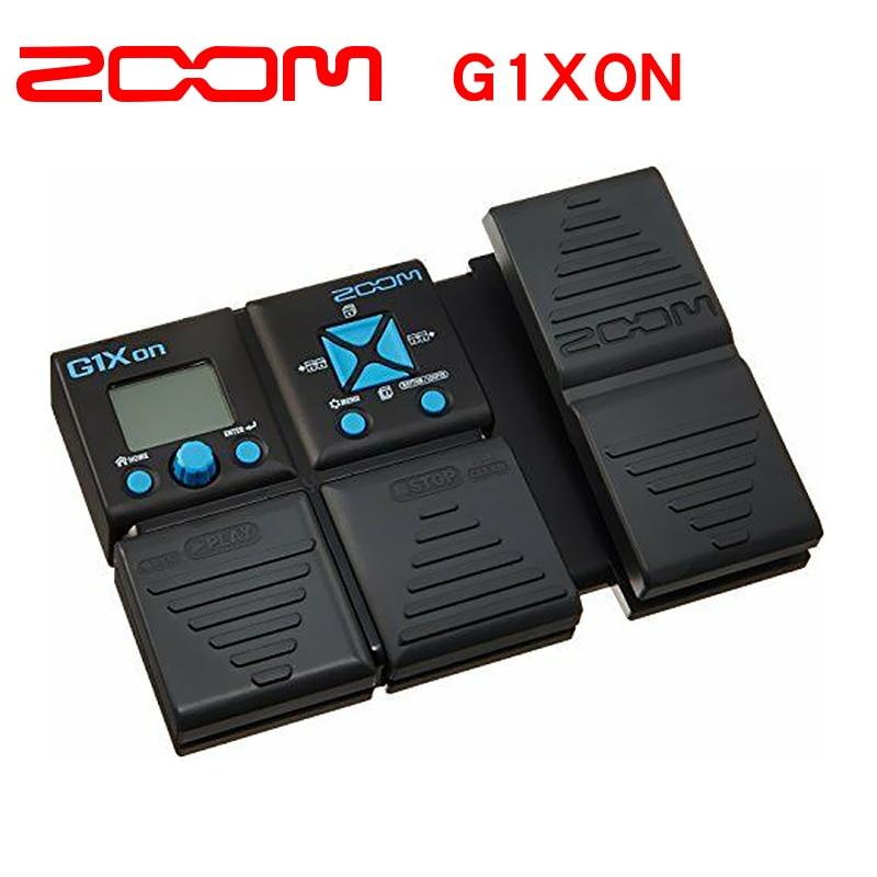 Zoom g1xon guitarra elétrica multi effector processeur stomp pedale