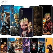 Lavaza Gardien Rocket Raccoon Groot Treeman pour Samsung Galaxy S6 S7 Bord J6 S8 S9 S10 Plus A3 A5 A6 A7 A8 A9 Note 8 9