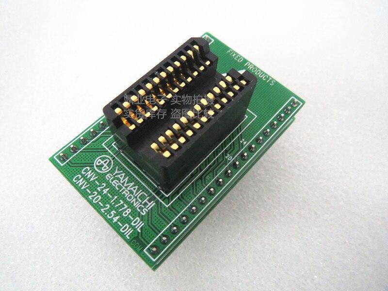 Original YAMAICHI IC Test Seat 1.778MM 24PIN aging Burning Programmer Socket Adapter