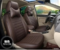 to your taste auto accessories custom luxury leather grey trendy car seat covers for renault latitude fluence talisman megane cc
