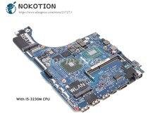 NOKOTION Pour Dell XPS 15 L521X Ordinateur Portable Carte Mère 15.6 pouces SR0WX I5-3230M CPU QBL00 LA-7852P CN-0NM71J 0NM71J