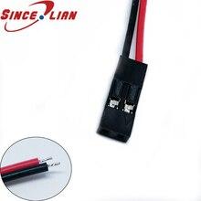 Fairy ilian fil de connexion Dupont   Ligne 10cm, simple tête 100mm 1Pin, 2Pin, câble de connecteur Dupont électrique, câble den-tête 2.54 pièces