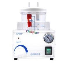 1/Set Dental Medical Emergency Vacuum Phlegm Suction Unit FDA Portable 110V/220V