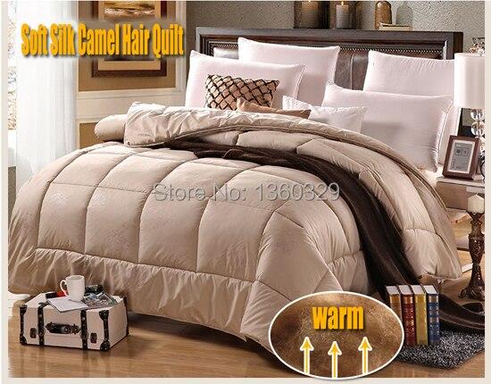 220*240cm camelo cabelo inverno consolador brandstwin cama colcha cobertores de lã edredon casal cama colcha grosso edredom rei tamanho