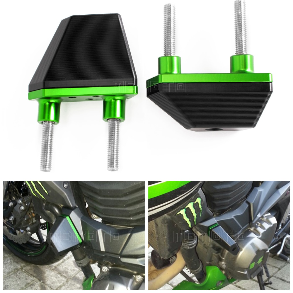 CNC Crash Pads Frame Sliders Protector For Kawasaki Z800 2013 2014 2015 2016 Z750 Z1000 Motorcycle Accessories Parts