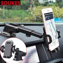 Car Retractable Dashboard Glass Phone Holder For Audi A3 A4 B8 A6 Q5 C7 8v B5 Mercedes Benz W203 W204 W205 W124 W212 AMG