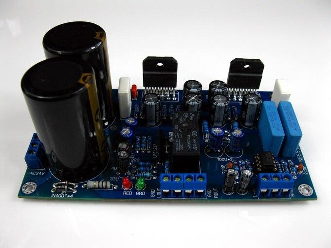 Усилитель DIY fever amp NE5532 + LM3886, усилитель с защитной печатной платой, 2,0 каналов, 68 Вт * 2 Плата усилителя