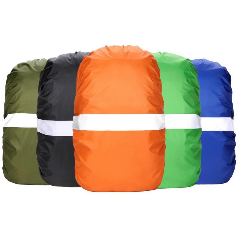 Impermeable ajustable mochila resistente al polvo bolsa de cubierta de lluvia de polvo