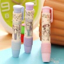 1 pièces mignon coréen papeterie doux garçons filles amoureux presse caoutchouc gommes étudiant fournitures scolaires cadeaux
