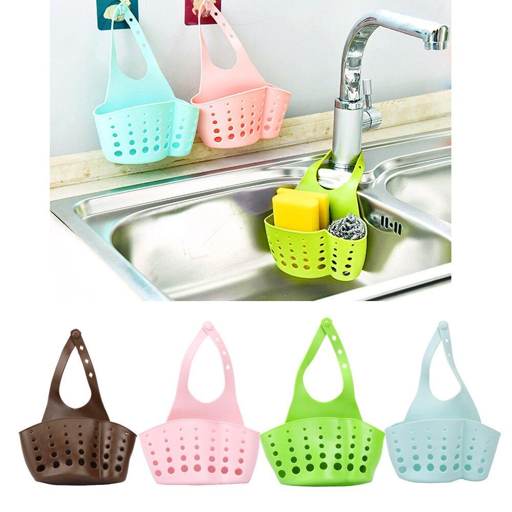 Высокая производительность ПВХ Портативная Домашняя кухонная раковина для хранения подвесная корзина для хранения инструментов для ванной держатель для раковины дропшиппинг #92370