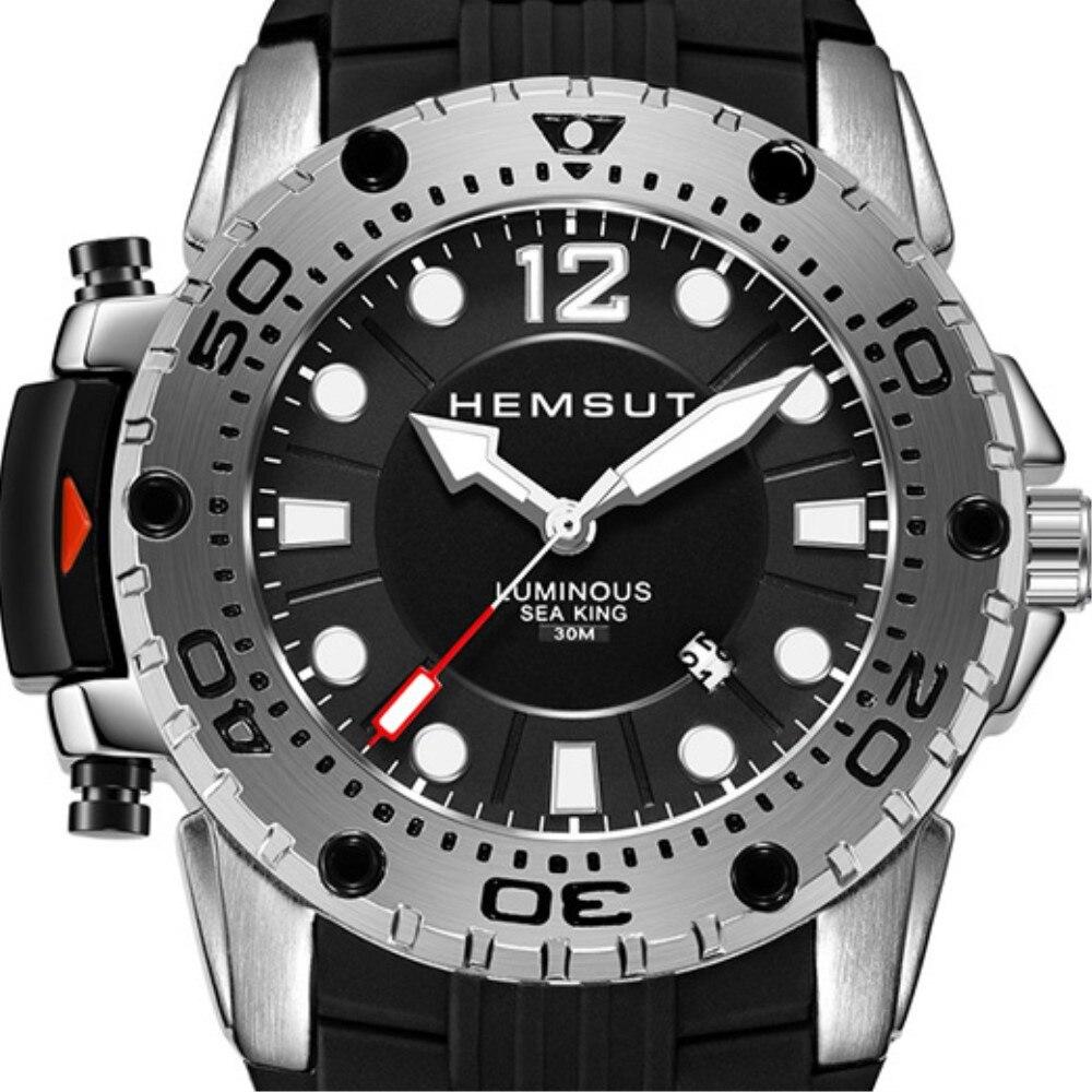 Relógio masculino esportivo e luxuoso de quartzo, relógio impermeável, novo, 2019 masculino