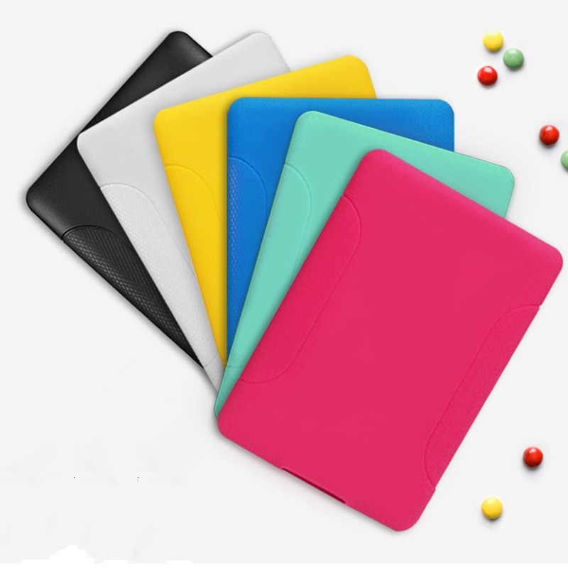For Capa New Kindle Paperwhite 4 Case Soft TPU Silicon Tablet E-book Back Cover for Amazon 1/2/3 Funda Shell
