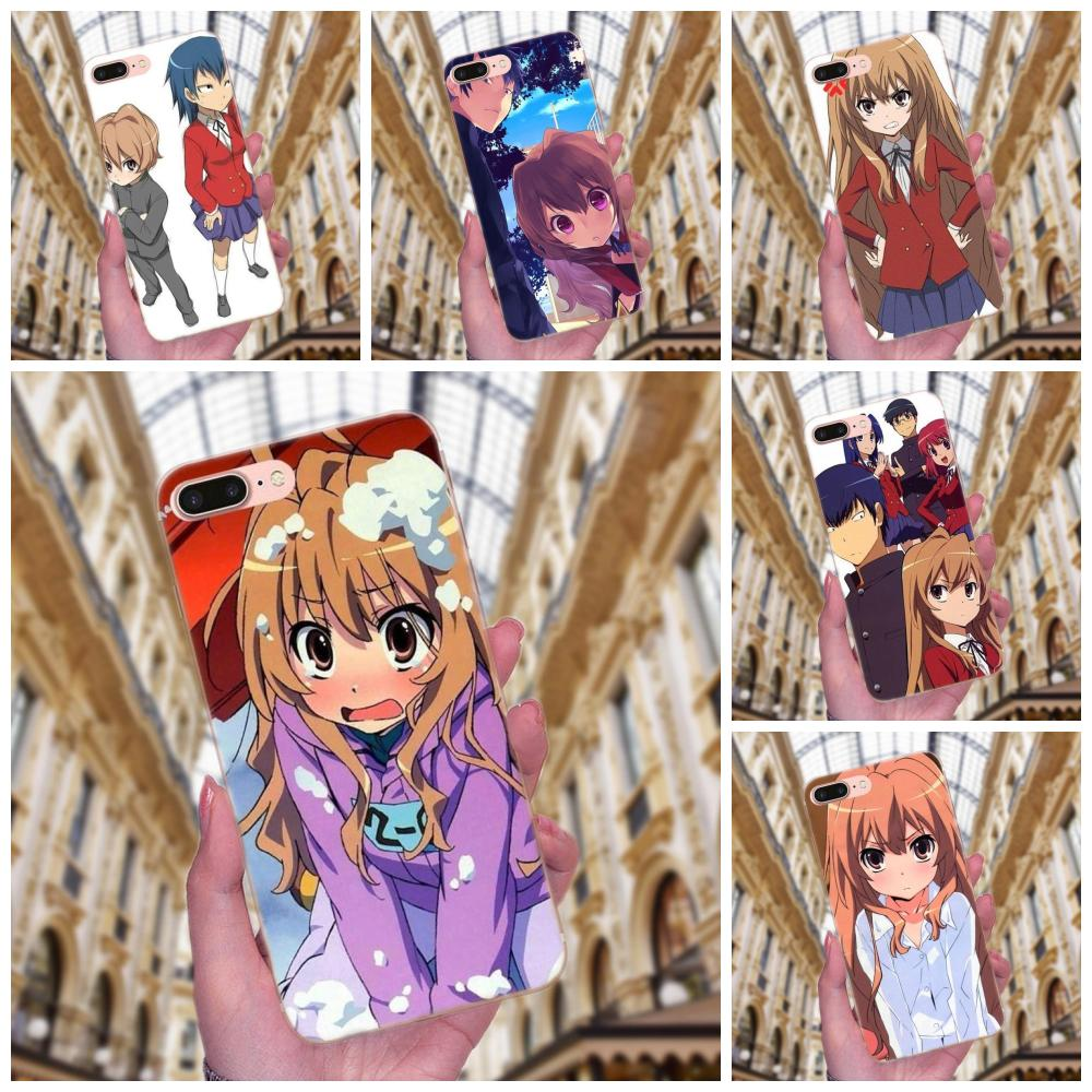 Huawei 社 P7 名誉 4C 5A 5C 5 × 6 6C 6A 6 × 7 7 × 8 9 V8 v10 Y3II Y5II Y6II G8 再生 Lite ソフト TPU ケースアニメとらドラ