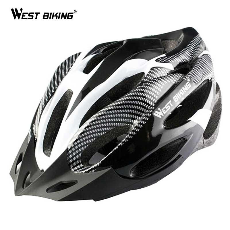 WEST Cycling-casque de vélo multi-sports, en carbone, pour cyclisme, vtt, vélo sur route, modèle à 21 évents, mise à niveau