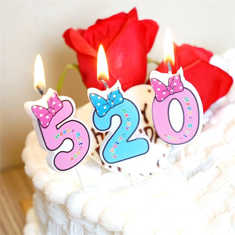2018 новый день рождения цифры свечи мультфильм мышь с днем рождения свечи торт Кекс Топпер поставка украшений для вечеринок