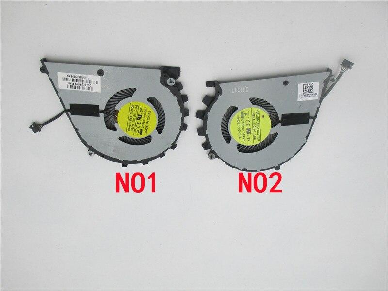 Кулер Cpu вентилятор для FGFA DFS501105PR0T FGF9 DFS501105PQ0T 840960-001 7J1730 NS75C07-15C04 NS75C08-15C05 HP ZBook-17 Studio-G3