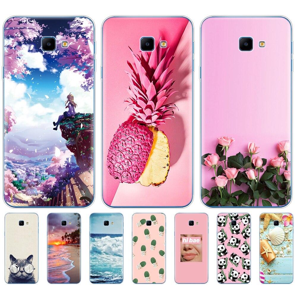"Para Samsung J4 Core caso 6,0 ""suave de silicona TPU cubierta del teléfono para Samsung Galaxy J4 Core caso J410 J410F cubierta J 4 4J J4Core"