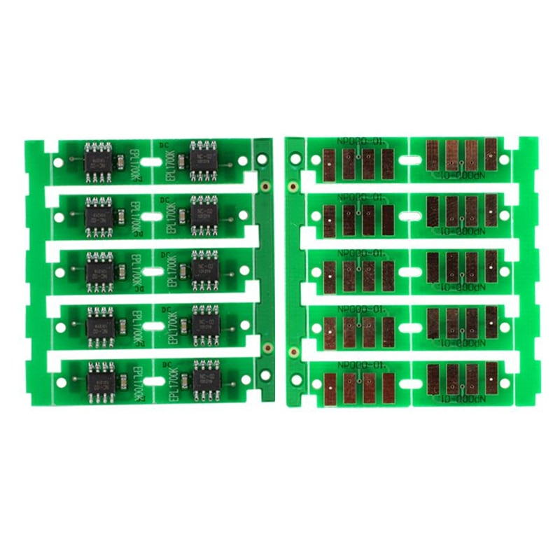 10 X Para Dell C1660W 1660 1660 W chip do cartucho de toner de impressora a cores para 332-0399 332-0400 332-0401 332-0402 fichas de reset