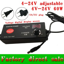Regolabile 3V-24V12v36v adattatore con lo schermo di visualizzazione di tensione 15v1 7 V/16 v/22 v/21 v /14 v/13.6V8V5A30v DC power supply adatper