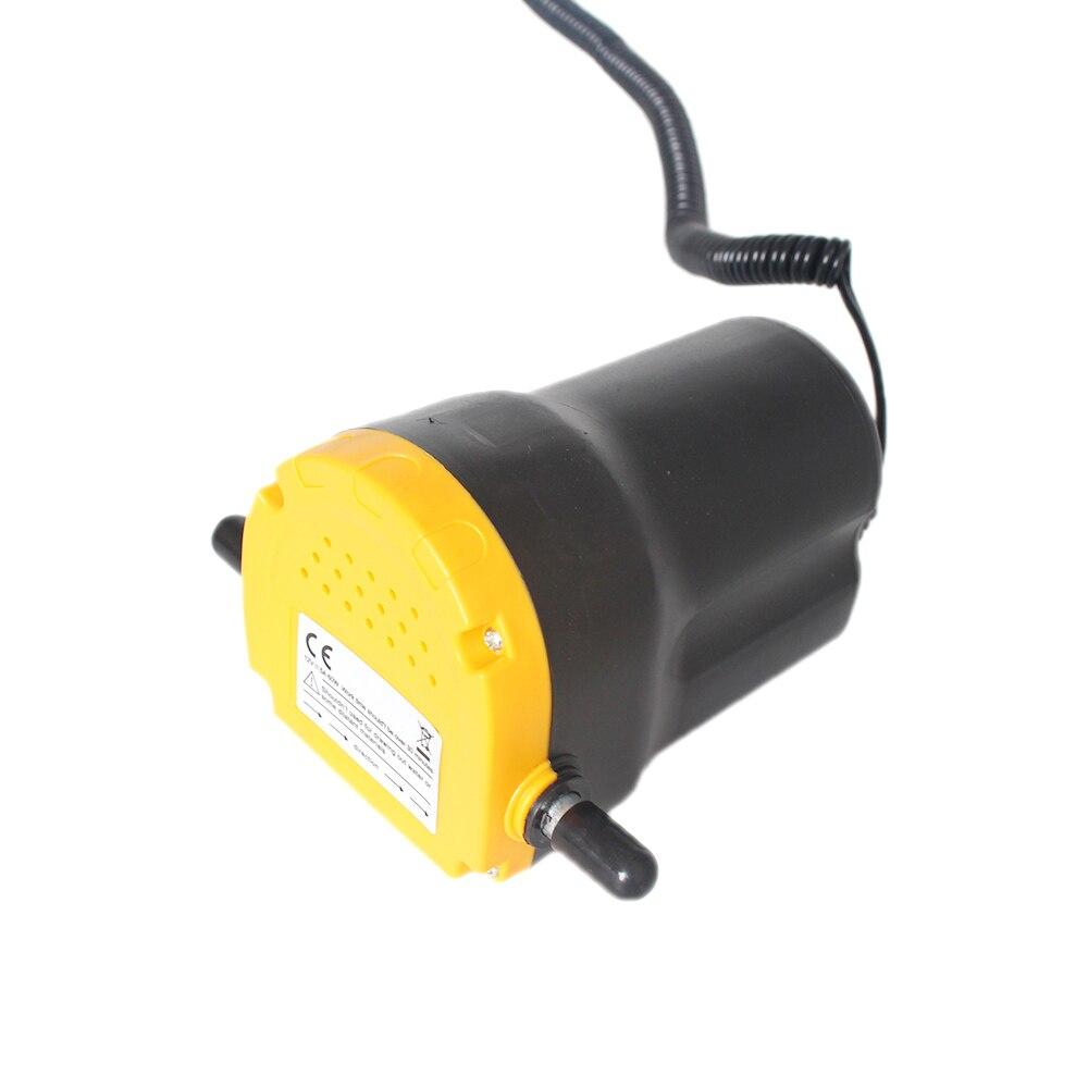 Bomba de aceite de Motor de coche 12 V, 24 V eléctrica de Aceite/Diesel Extractor Scavenge Sumidero de Fluido Intercambio de Transferencia De combustible succión, Barco Moto 12 v