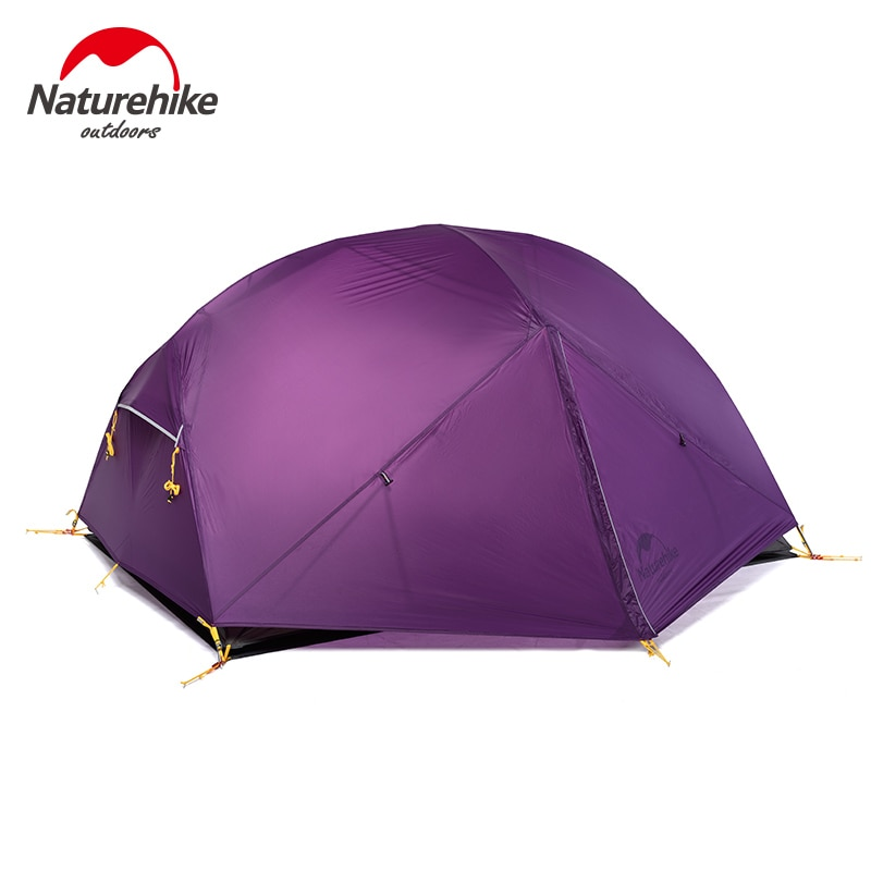 NatureHike في 2 شخص خفيفة خيمة NH المشي الخيام للماء الخيام طبقة مزدوجة في الهواء الطلق التخييم تنزه 2018 السفر خيمة