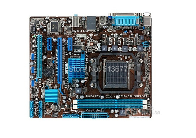 ASUS-placa base original M5A78L-M LX DDR3 AM3, 16GB, 760G, 760L, Envío Gratis