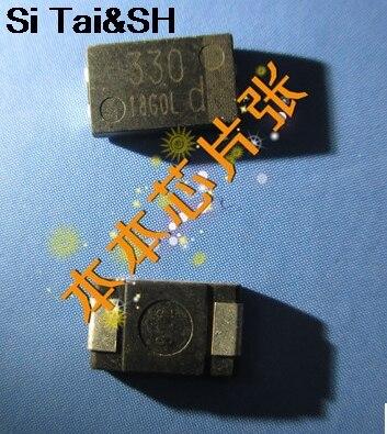 Танталовый конденсатор ESR 330 мкФ 4TPB330M может заменить OE128 OE907 (5 шт./лот)
