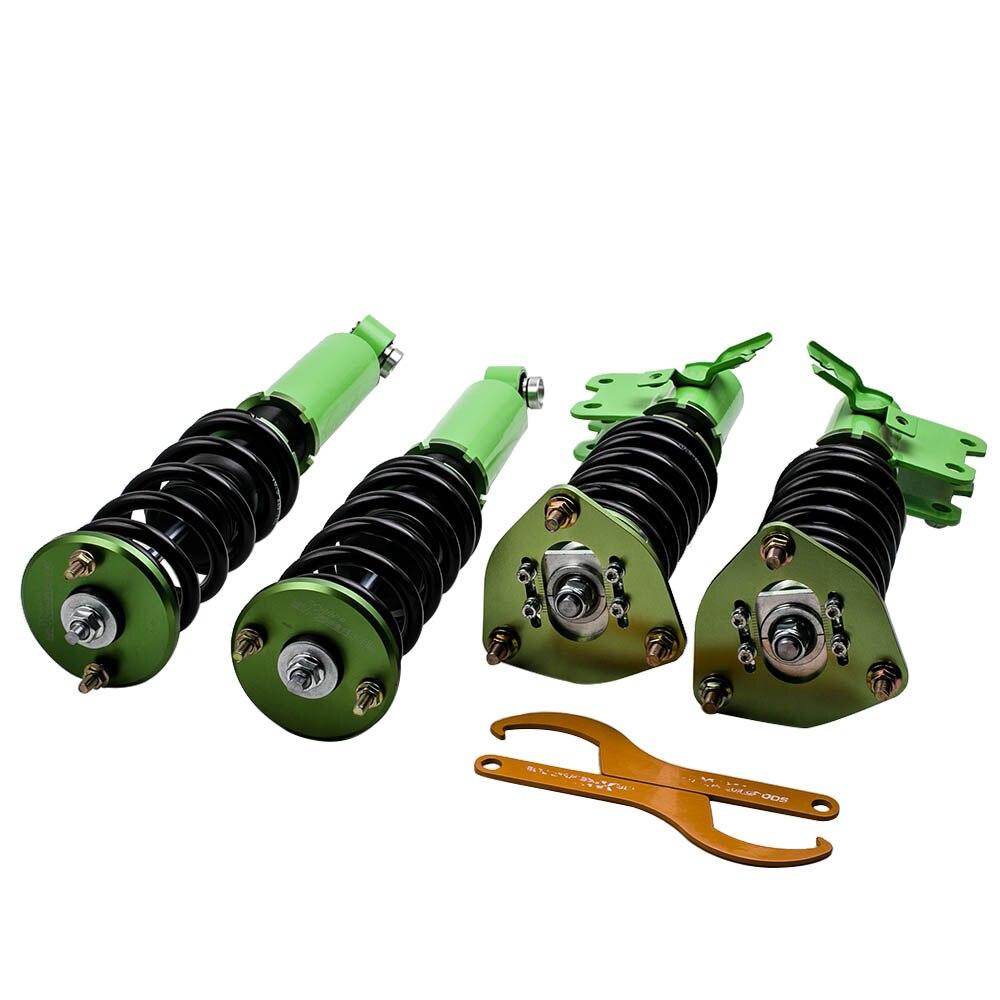 Para nissan S13 clavija 180 200SX 240SX CA18DET 89-94 SR20 suspensión amortiguador suspensión Adj. Camber altura
