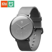 Xiaomi Mijia Smart Quartz Watch Pedometer Sensor Life Waterproof Bluetooth Watch Band Clock Reminder Vibrate For Mijia APP