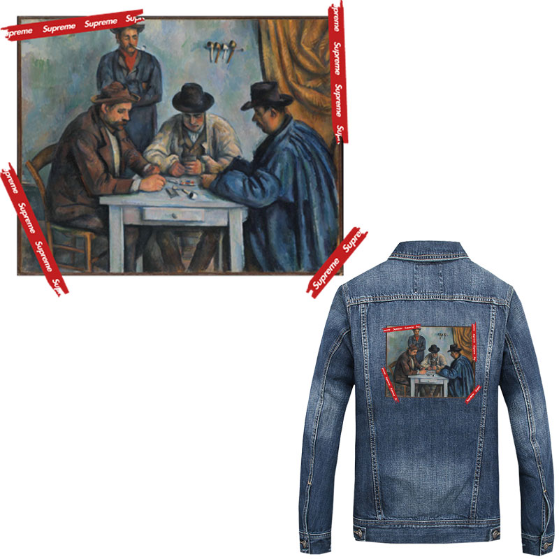 Parches de hierro estilo retro europeo para calcomanías para ropa transferencia de calor para chaqueta de camiseta parches termoadhesivos diy ropa