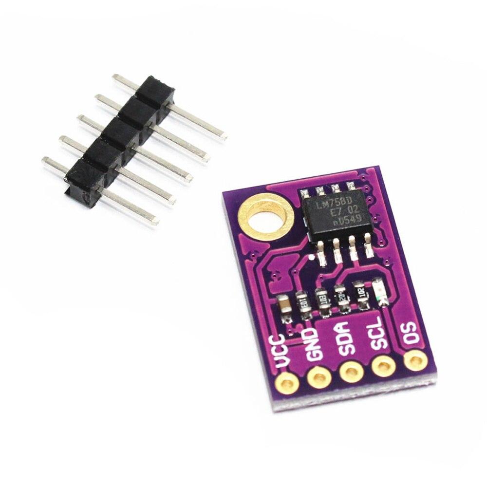 LM75A Temperature Sensor High-speed I2C Interface Development Board Module