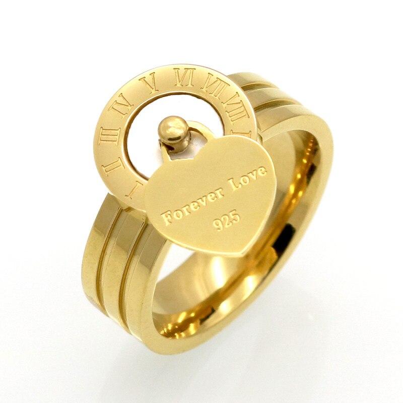 Nova moda jóias finas resina e concha marca numerais romanos anéis de casamento nupcial anel de noivado para mulheres presente jóias