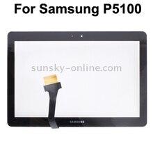 Écran tactile pour Samsung P6200 P1000/P1010 P5100/P5110/P5113 écran tactile numériseur panneau capteur avant verre lentille extérieure