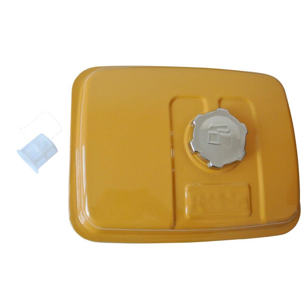 Tanque de gasolina con tapa y filtro de combustible compatible con Robin Subaru EY20 227-60201-11