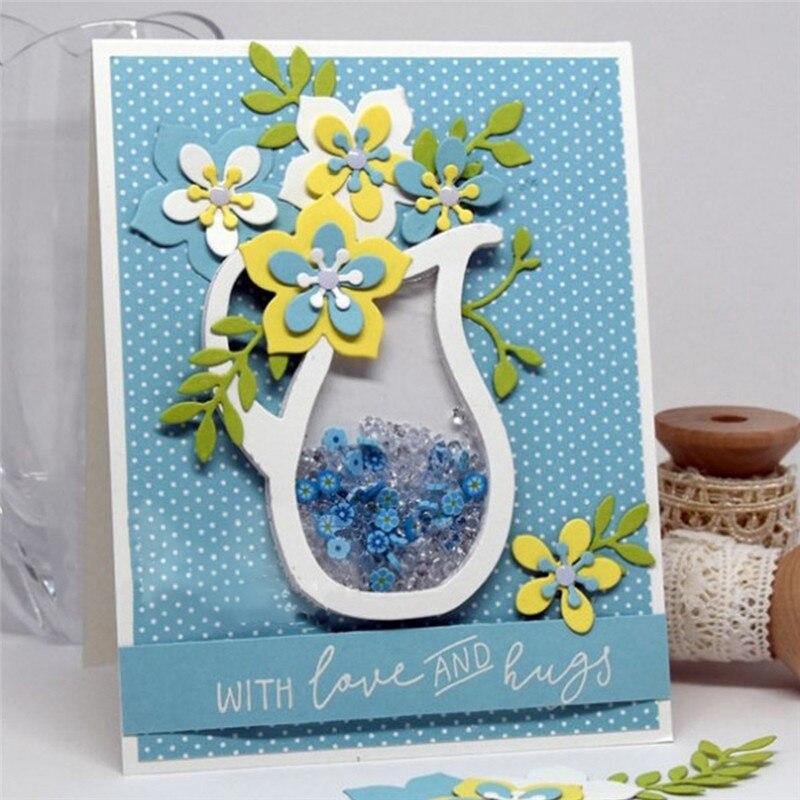 YaMinSanNiO Floral Metal Cutting Dies Scrapbooking Flowers Die Cut Set for Card Making Crafts Dies Embossing New 2019 Arrival
