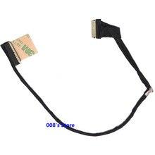 Nouveau écran lcd dordinateur portable Câble Pour Dell INSPIRON 3715 7537 N7537 15 7000 50.47L03.001 LVDS DOH50 DCXMF 0 DCXMF 40 Broches 15.6