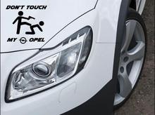 Don't Touch my Opel Aufkleber Sticker Astra GSI Motorsport Sport Mind Decal 12x10cm
