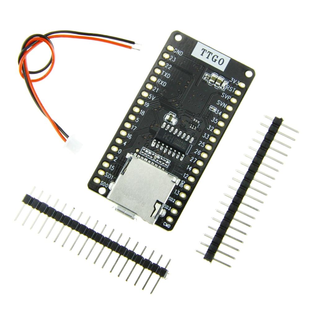 TTGO ESP-32 V1.3 Rev1 development board T1 4 MB FLASH SD Card bord wifi Module bluetooth