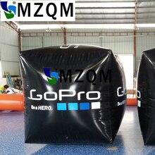 Bouée gonflable carrée faite sur commande de MZQM 2X2X2 m pour lévénement de leau