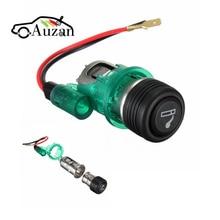 Universal para coche, motocicleta, Cintos alimentador para encendedor de cigarrillos, enchufe de salida de 12V para Ford/VW/BMW/Toyota/Honda/Audi