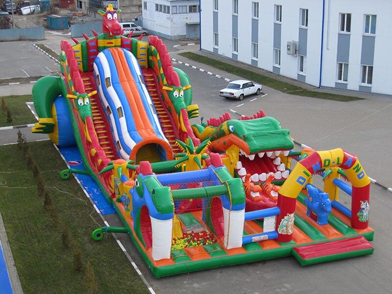 (China Guangzhou) toboganes inflables, castillos inflables, slideTOB-18 de piscina inflable