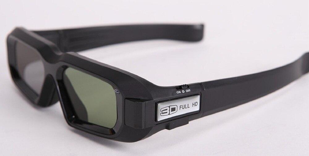 USB recargable RF Bluetooth 3D gafas 3d full HD para Epson 3D proyectores TW5200/5350/6600/8200/9200/5210/5300/6510/