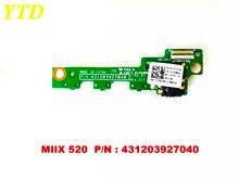 Placa de interruptor de botón de encendido Original para Lenovo MIIX520 MIIX 520 PN 431203927040 probado buen envío gratis